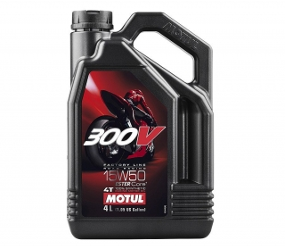 Motul 300V 4T Factory Line Road Racing 15W-50 4L